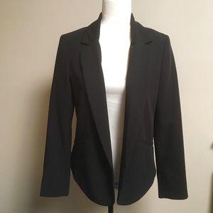 Forever 21 black open front blazer
